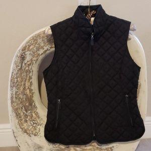 Eddie Bauer, Light-weight, Black DOWN Vest